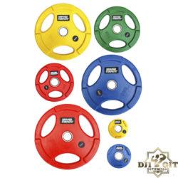 Тренировочные олимпийские диски (обрезиненные, уретановые, бамперные)